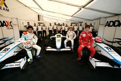Pablo Sanchez Lopez, Felipe Guimaraes, Mirko Bortolotti and the Addax team