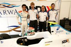 Pablo Sanchez Lopez and his engineers
