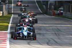 Roberto Merhi leads Mirko Bortolotti and Nico Muller