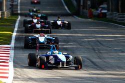 Roberto Merhi leads Mirko Bortolotti