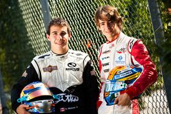 Esteban Gutierrez and Robert Wickens winner of race 16 and 17 in the GP3 Championship