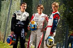Esteban Gutierrez, Robert Wickens y Nico Muller, el podio del campeonato