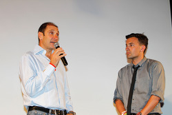 Bruno Michel, GP2 - GP3 organiser and Will Buxton on Stage