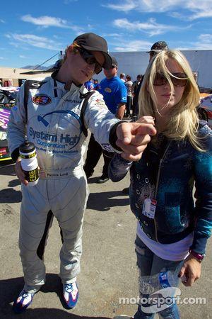 Patrick Long avec sa petite amie