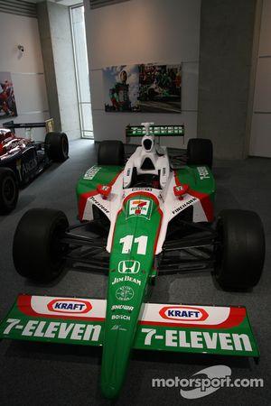 Car of Tony Kanaan, Andretti Autosport in the Honda Museum