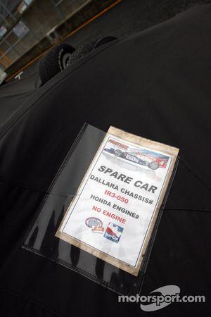 Reservewagen Dan Wheldon, Panther Racing