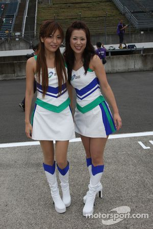 Charming Twin Ring Motegi girls