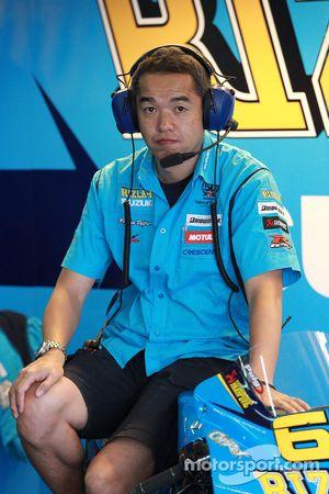 Член команды Rizla Suzuki MotoGP