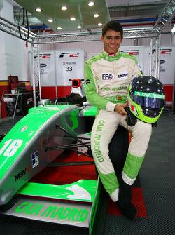 Ramon Pineiro makes his F2 debut