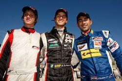 Kwalificaties: Polepositie Nicola de Marco, 2de Benjamin Lariche, 3de Armaan Ebrahim