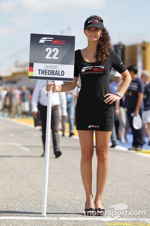 La gridgirl de Johannes Theobald