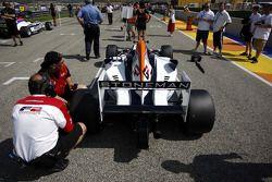 Dean Stoneman on the grid
