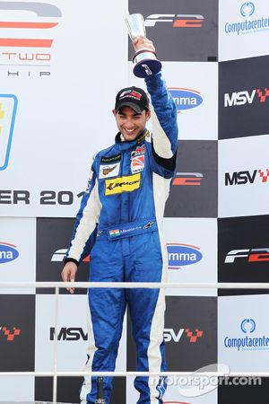 Armaan Ebrahim, troisième de la course