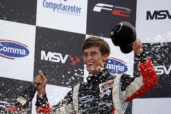 Race 1 winner Nicola de Marco