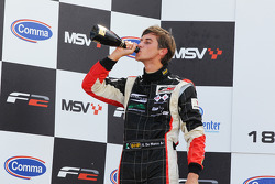 Nicola de Marco, vainqueur de la première course