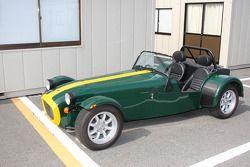 British Racing Green on this Lotus 7 replica