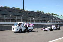Car of Graham Rahal, Newman/Haas Racing