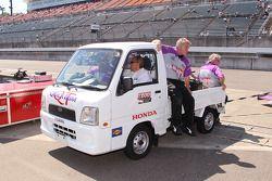 Newman/Haas Racing team members