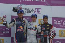 Jean-Eric Vergne, Esteban Guerrieri ed Albert Costa