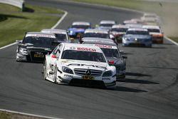 Départ: Paul di Resta, Team HWA AMG Mercedes C-Klasse