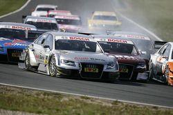 Miguel Molina, Audi Sport Rookie Team Abt, Audi A4 DTM et Oliver Jarvis, Audi Sport Team Abt Audi A4 DTM