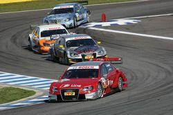 Mike Rockenfeller, Audi Sport Team Phoenix Audi A4 DTM, Martin Tomczyk, Audi Sport Team Abt Audi A4