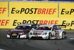 Oliver Jarvis, Audi Sport Team Abt Audi A4 DTM et Maro Engel, Mücke Motorsport, AMG Mercedes C-Klass