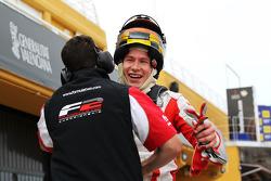 Race 2 pole winnaar Kazim Vasiliauskas