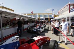 F2 hospitality in de Valencia paddock