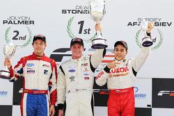 2010 FIA Formula Two Championship standings: champion Dean Stoneman, second place Jolyon Palmer, thi