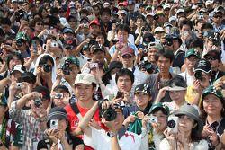 Fans of Takuma Sato, KV Racing Technology