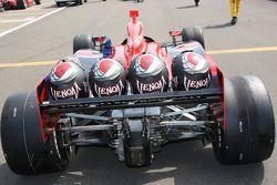 Crew helmets for Marco Andretti, Andretti Autosport