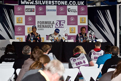 Daniel Ricciardo, Esteban Guerrieri e Jean-Eric Vergne