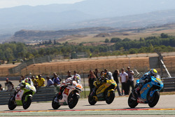 Alvaro Bautista, Rizla Suzuki MotoGP, Hector Barbera, Paginas Amarillas Aspar, Marco Melenri, San Ca