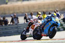 Alvaro Bautista, Rizla Suzuki MotoGP, Marco Melenri, San Carlo Honda Gresini