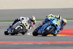Alvaro Bautista, Rizla Suzuki MotoGP, Reny De Puniet, LCR Honda MotoGP