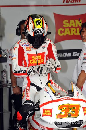 Марко Меландри, San Carlo Honda Gresini