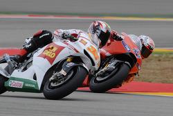 Marco Melandri, San Carlo Honda Gresini en Casey Stoner, Ducati Marlboro Team
