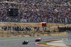 Marco Simoncelli, San Carlo Honda Gresini y Valentino Rossi, Fiat Yamaha Team