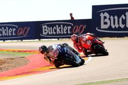 Jorge Lorenzo, Fiat Yamaha Team y Nicky Hayden, Ducati Marlboro Team