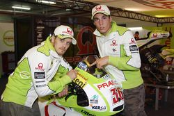 Мика Каллио, Pramac Racing Team и Алеш Эспаргаро, Pramac Racing Team