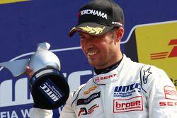 Podium, Tiago Monteiro, SR-Sport, Seat Leon 2.0 TDI