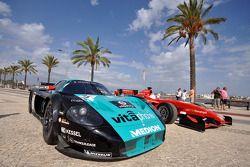 GT1 World and Superleague Formula demo run