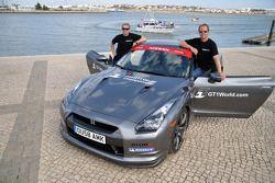 GT1 World and Superleague Formula demo run: Warren Hughes and Jamie Campbell-Walter