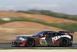 #12 Mad-Croc Racing Corvette Z06: Laurent Cazenave, Pertti Kuismanen