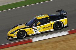 #13 Phoenix Racing / Carsport Corvette Z06: Marc Hennerici, Alexandros Margaritis