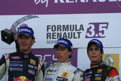 Jean-Eric Vergne, Esteban Guerrieri, Albert Costa