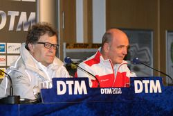 Conférence de presse : Norbert Haug et Wolfgang Ullrich