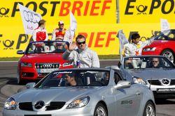 Parade des pilotes : David Coulthard, Mücke Motorsport