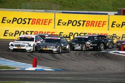 Départ : Paul di Resta, Team HWA AMG Mercedes C-Klasse et Bruno Spengler, Team HWA AMG Mercedes C-Kl